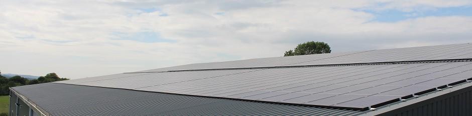 Mypower Install Solar Pv At Lye Cross Farm