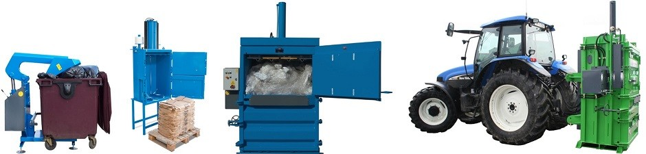 QCR balers, compactors and crushers
